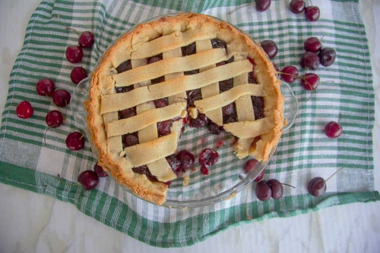sugar free cherry pie