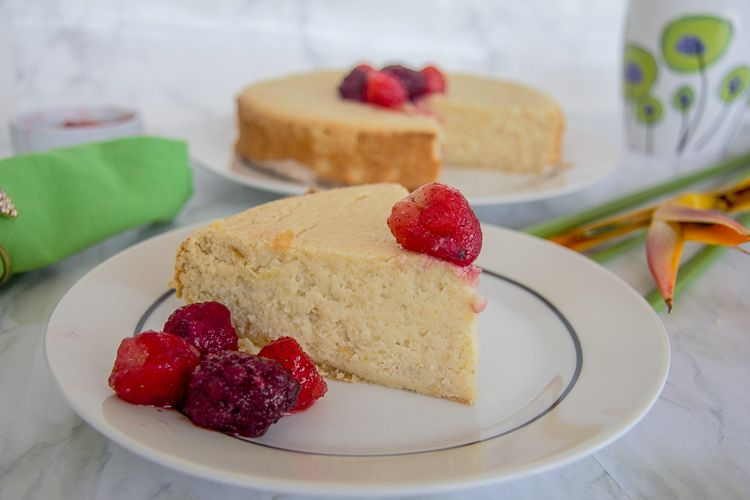 lemon almond flour cake