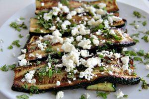 zucchini and mint