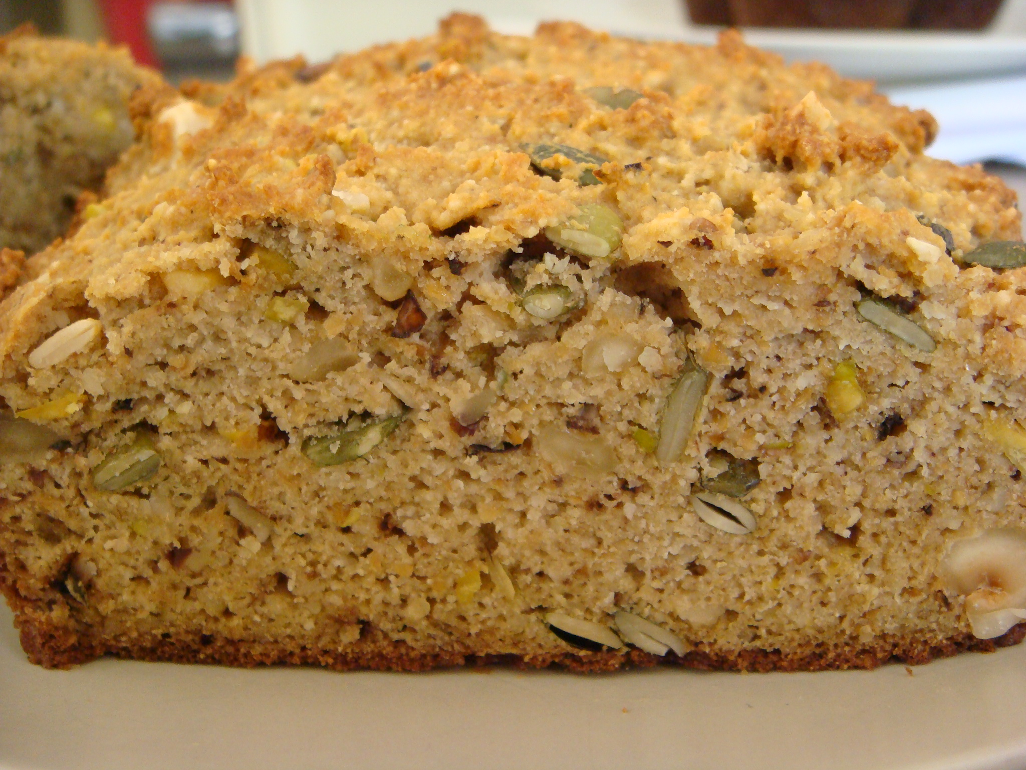 Nutty healthy bread