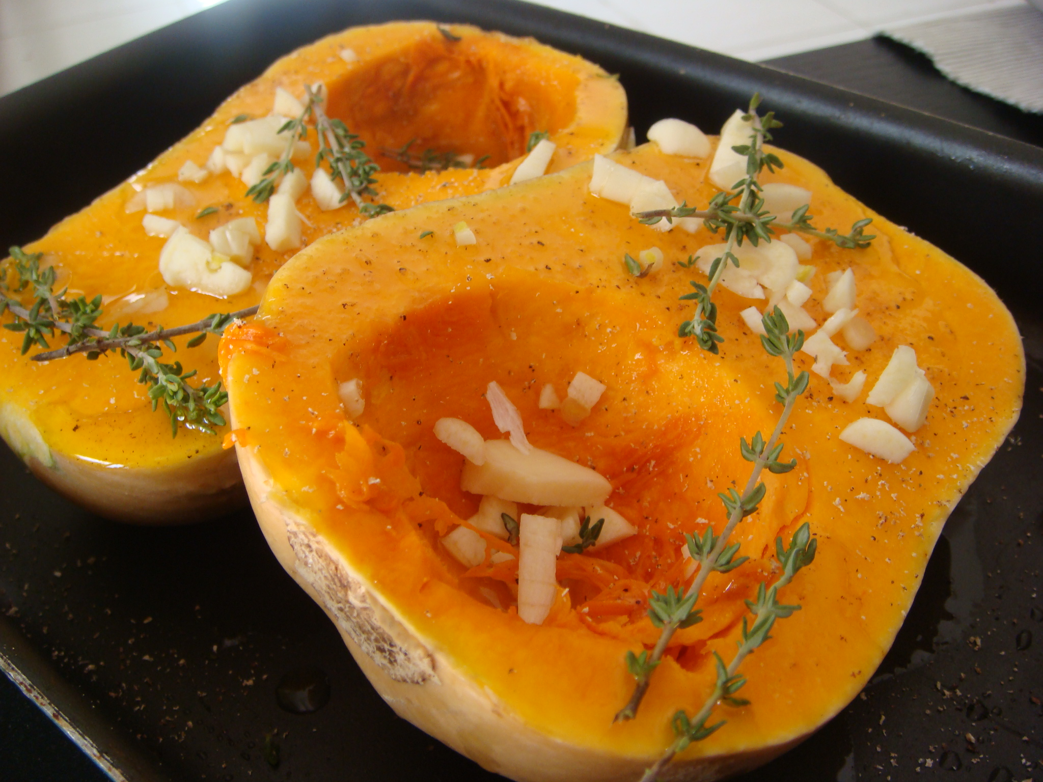 Roasted Butternut Squash with Camembert - Divalicious Recipes