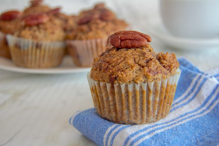 healthy flaxseed muffins
