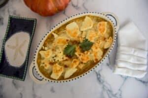 pumpkin gratin