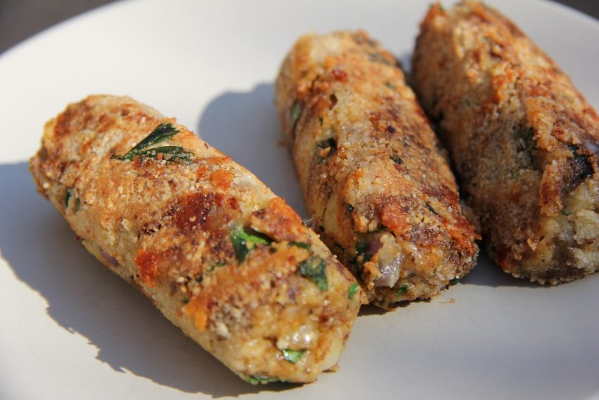 Vegetarian Cheese Sausage