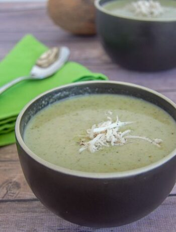 broccoli coconut milk soup
