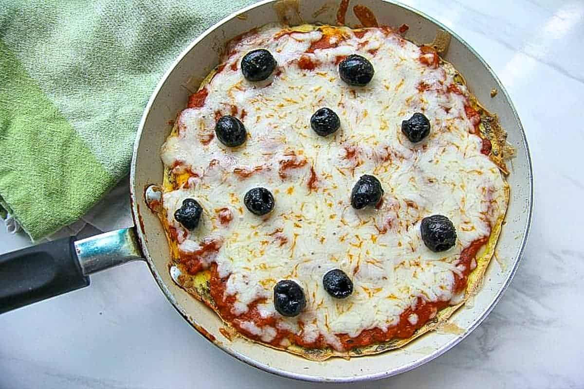 pizza fritta in a frying pan