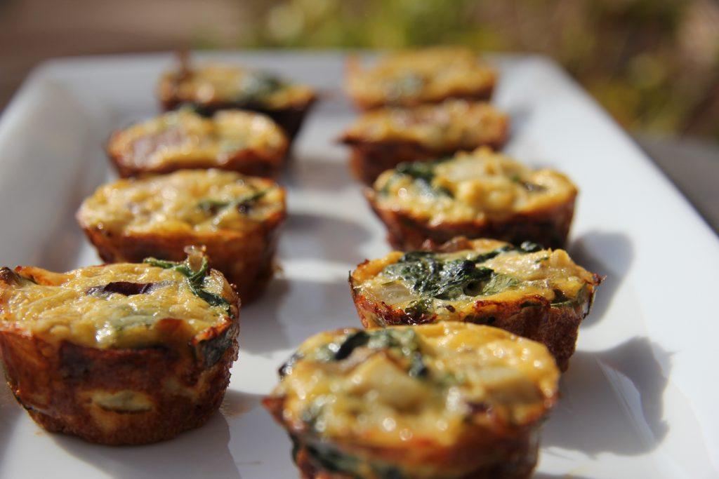 Artichoke and Spinach Mini Quiche Bites - Divalicious Recipes