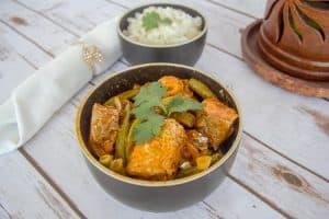 thai salmon curry