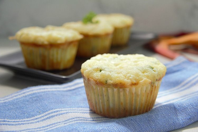 savoury cheese muffin