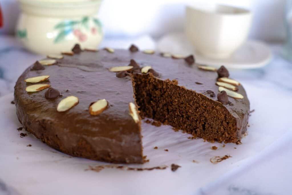 chocolate almond flour cake