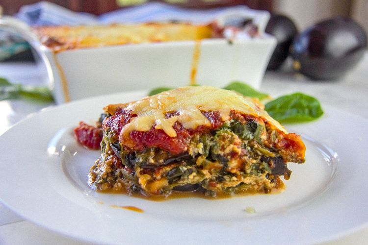 spinach eggplant lasagna