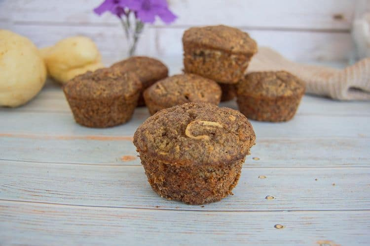 low carb flaxseed muffins