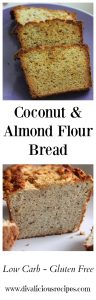 coconut almond flour bread