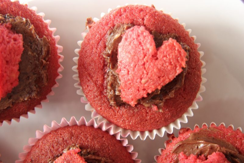 low carb valentine's cupcakes