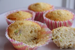 Rosewater & Pistachio Muffins