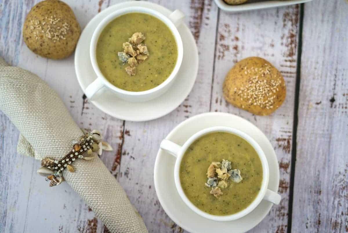zucchini keto soup