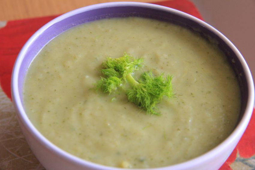 Fennel & Zucchini Soup