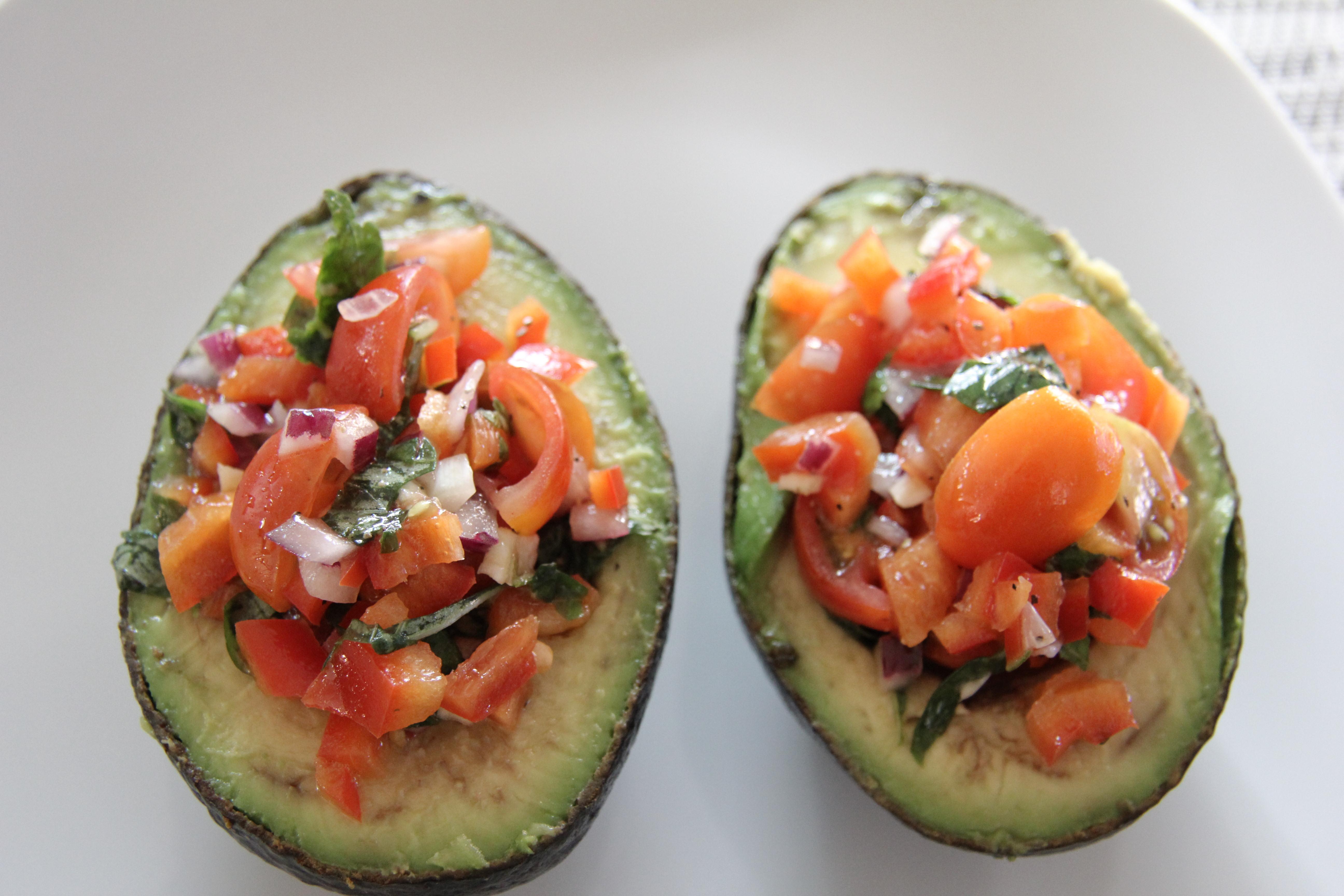 stuffed avocado