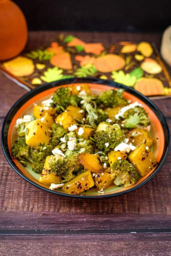 pumpkin broccoli