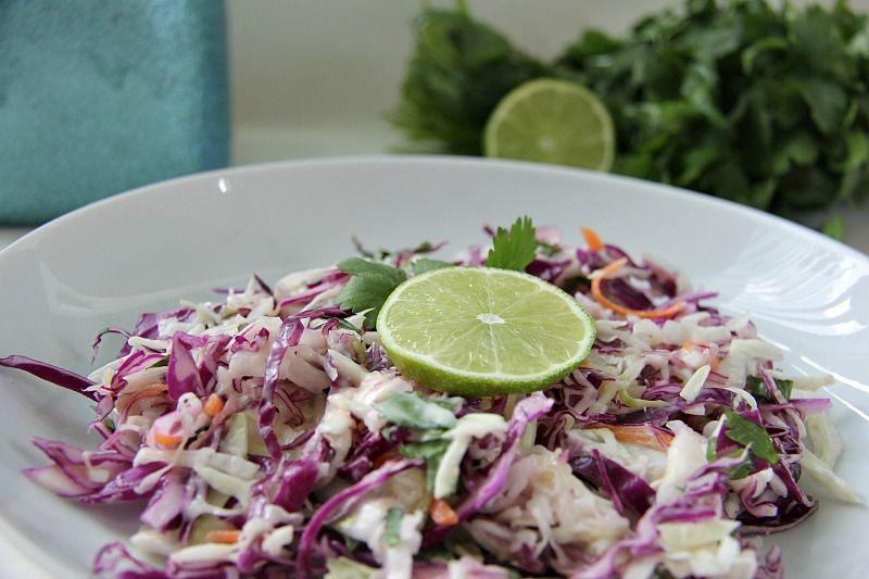 coleslaw lime cilantro
