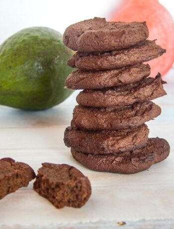avocado cookies