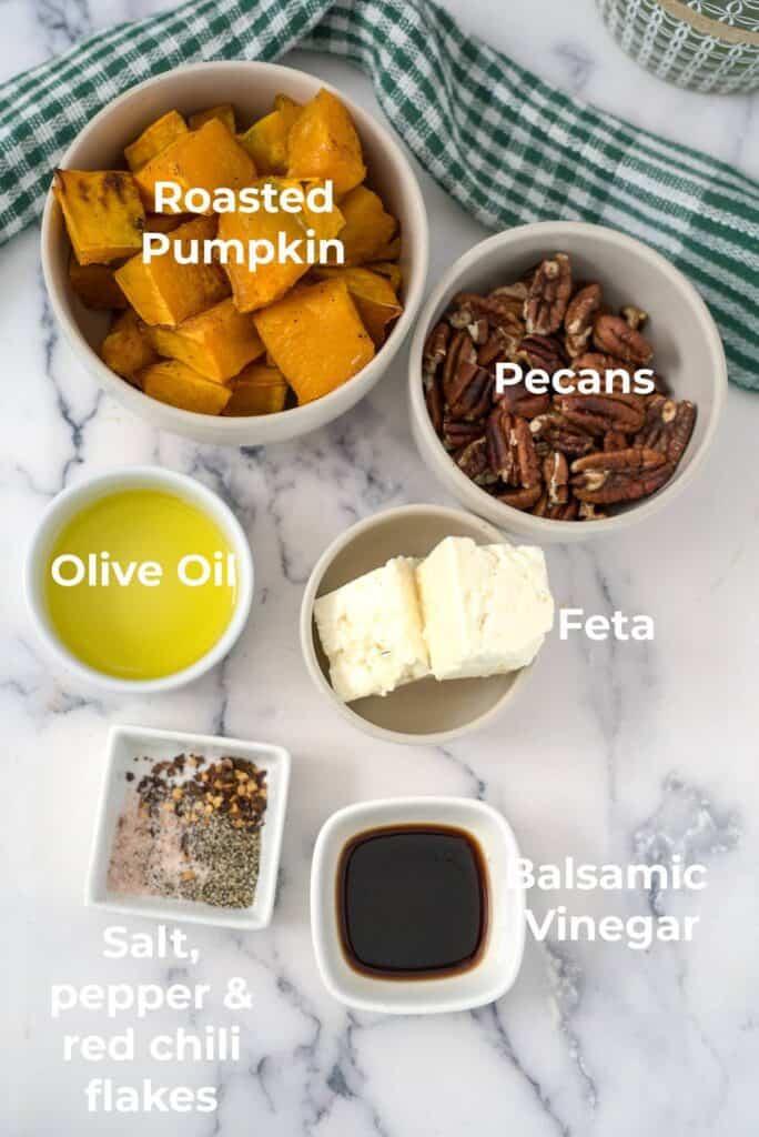 pumpkin feta ingredients