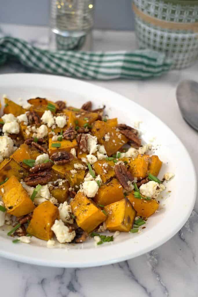pumpkin pecan salad
