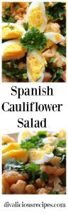 spanish cauliflower salad