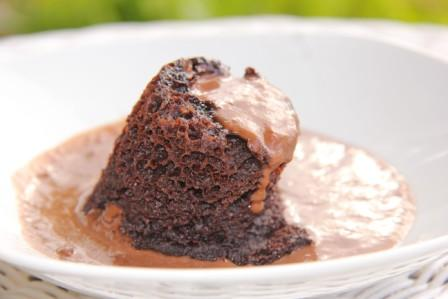 Flourless Chocolate Pudding