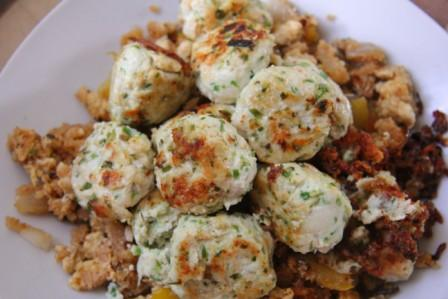 Gingered Chicken Dumplings