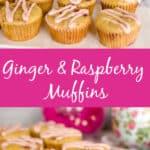 Keto Ginger Raspberry Muffins