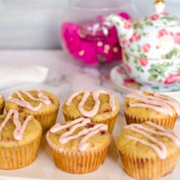 ginger raspberry muffins