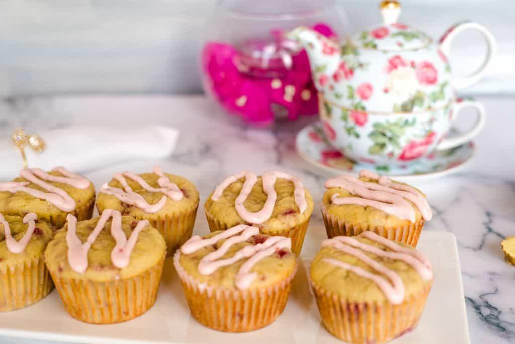 ginger raspberry muffins