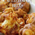 spicy peanut cauliflower bites