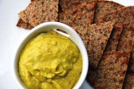 avocado mustard dip