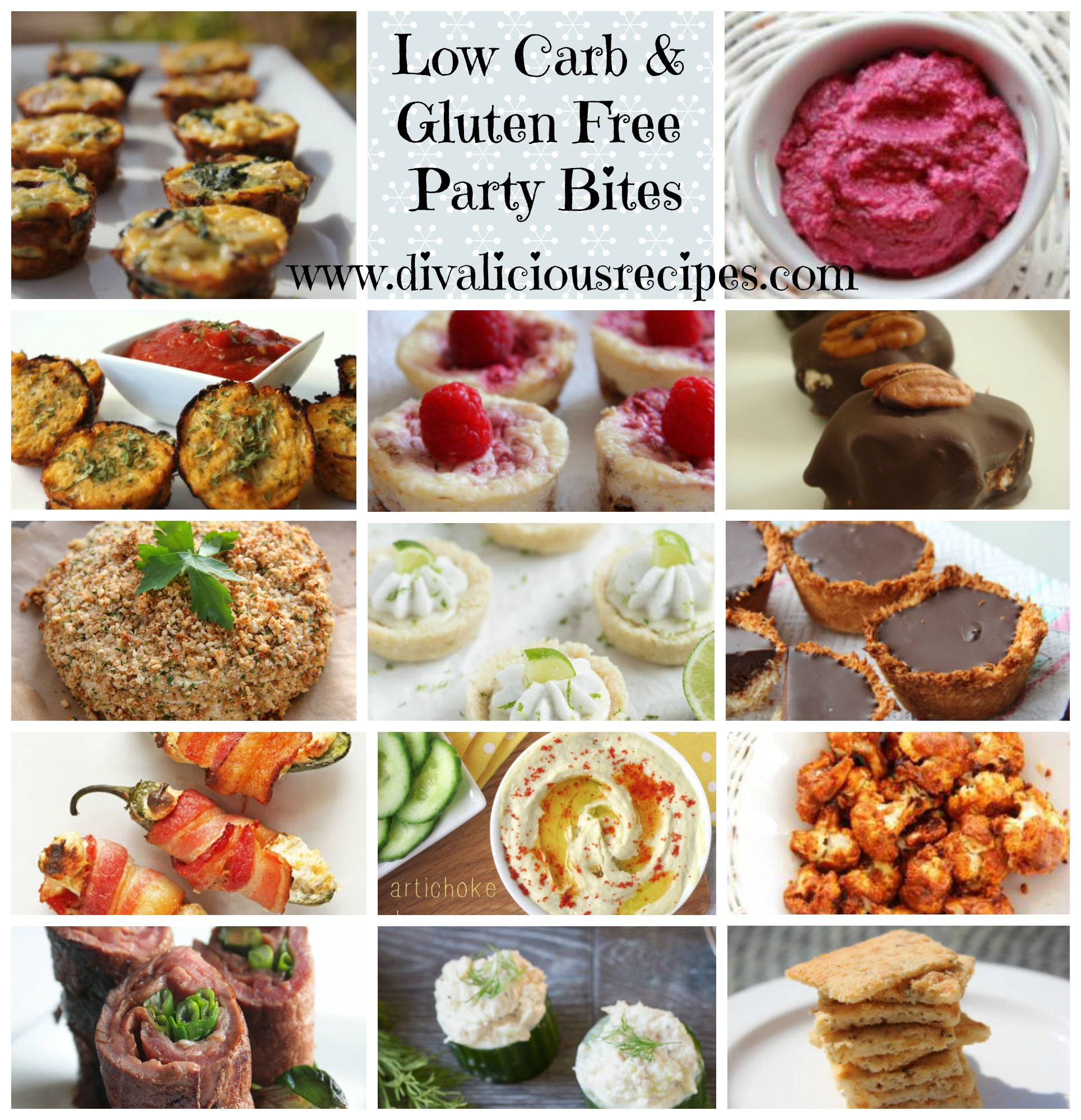 new years eve party bites low carb gluten free divalicious recipes