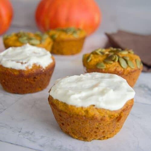 flaxseed pumpkin muffins
