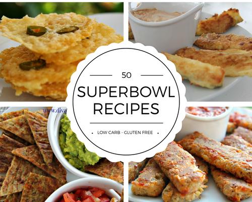 50 Low Carb Gluten Free Superbowl Snacks Divalicious Recipes