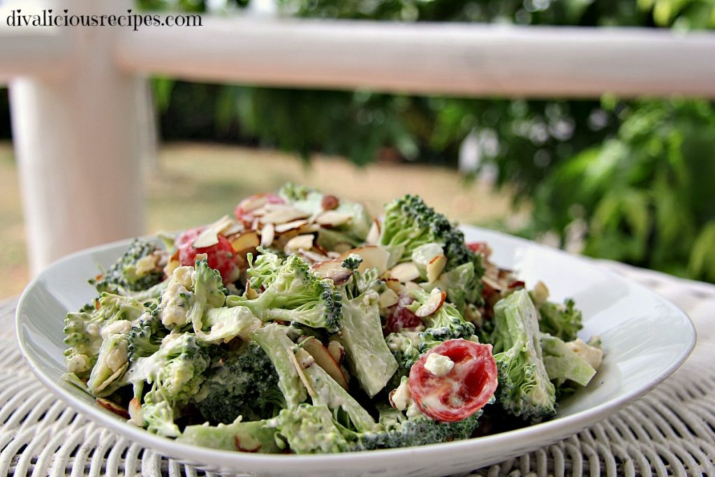broccoli blue cheese salad