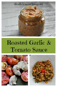 Roasted garlic & tomato sauce