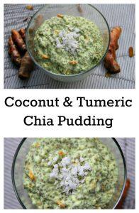 coconut tumeric chia pudding