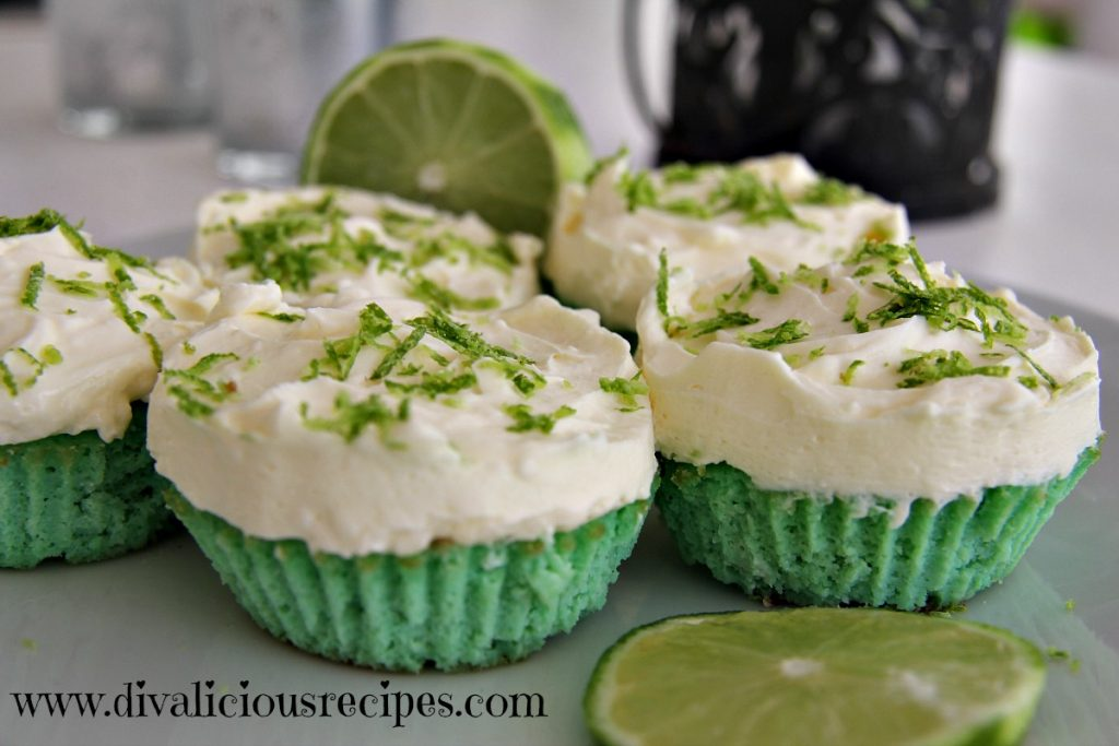lime cupcake
