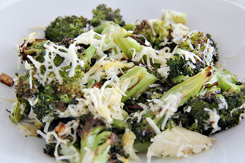 Garlic broccoli