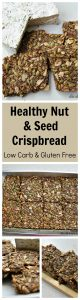 Healthy Nut & Seed Crispbread