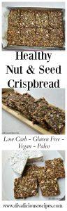 nut seed crispbread