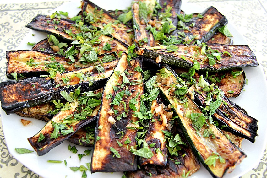 Eggplant agrodolce