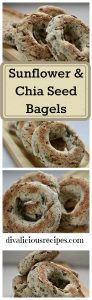 Sunflower & Chia Seed Bagels
