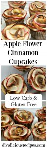 Apple Flower Cinnamon Cupcake