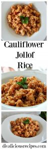 Cauliflower Jollof Rice