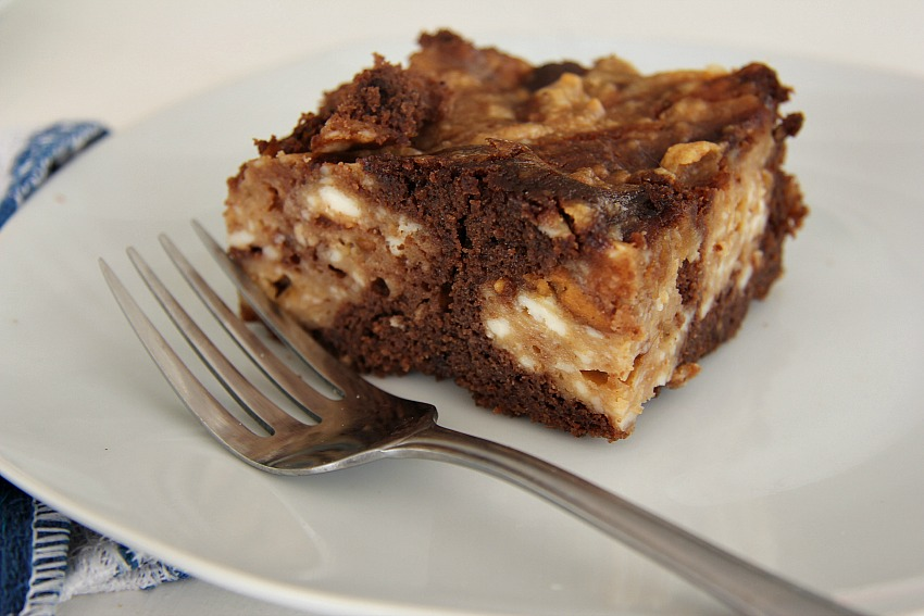 Peanut Chocolate Brownie